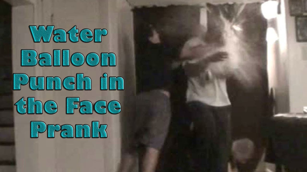 Water Balloon Punch in the Face Prank