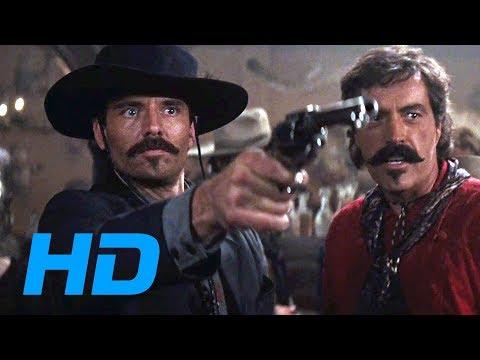 Johnny Ringo Meets Doc Holliday [Tombstone / 1993] - Movie Clip HD