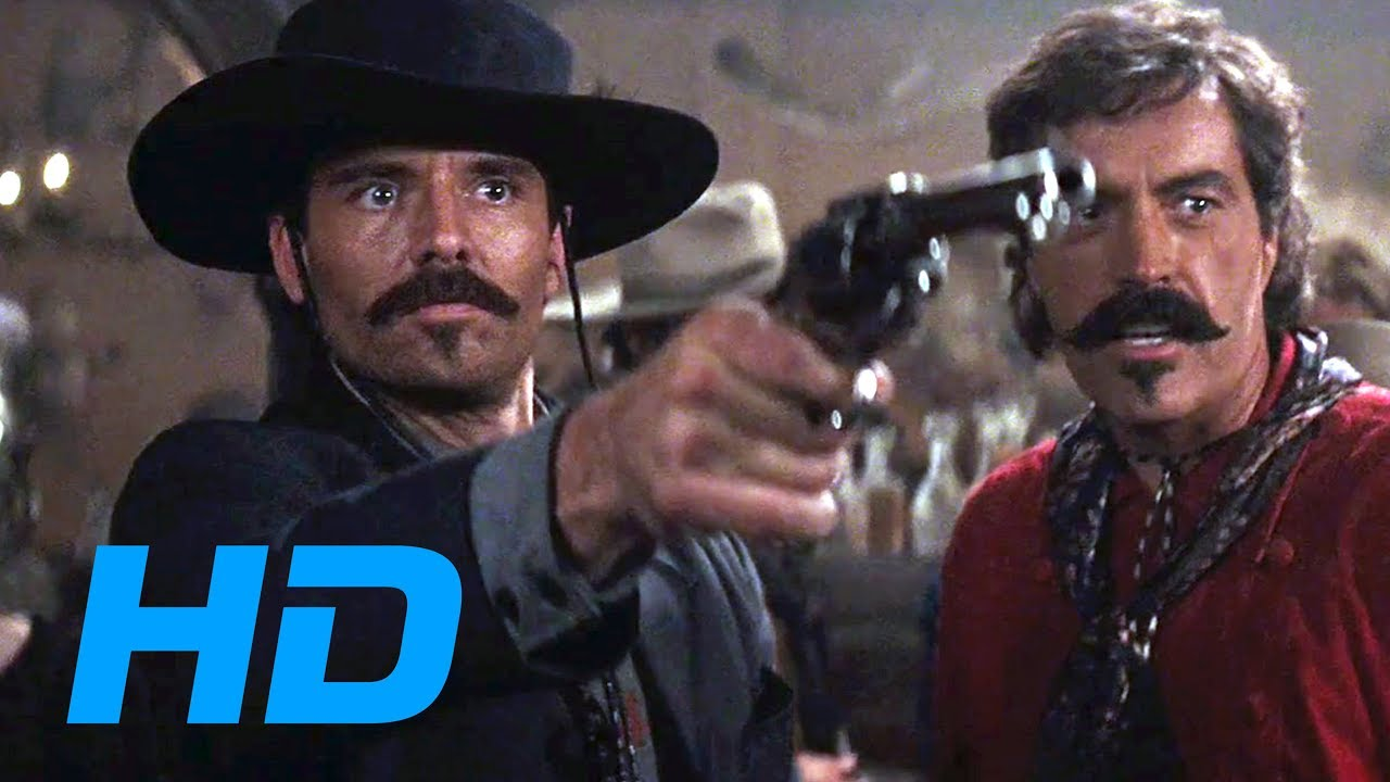 Johnny Ringo Meets Doc Holliday [Tombstone / 1993] - Movie Clip HD