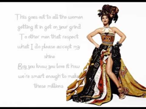 Beyonce - Girls (Who Run The World) + Lyrics