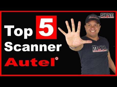 💥TOP 5 Scanners Automotrices De La Marca AUTEL 🚙 ⭐️