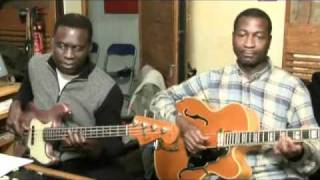 ALADJI TOURE and TOTO GUILLAUME (en  Studio )