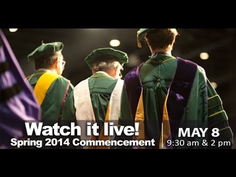 Commencement Ceremony Spring 2014  Morning