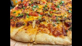 How To Cook Pizza On A Offset Smoker ~ Pizza Recipes ~ Gloves Drawing