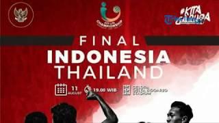 Download Video Jadwal Siaran Langsung, Live Streaming Indosiar Final Piala AFF U-16 Timnas Indonesia Vs Thailand MP3 3GP MP4
