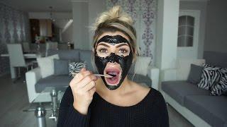 DIY:Black Mask ❤ Crna Maska za lice ❤ SabrinaTubic