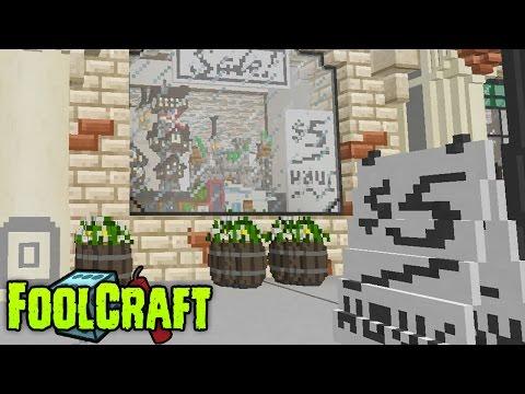 FoolCraft Modded Minecraft :: Glorious Shop Window! 29