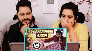 Indian Reaction On SHARAMNAAK SHADI | AWESAMO SPEAKS
