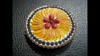 Polymer Clay Fruit Tart Charm