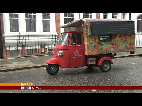 India to UK in a tuk-tuk (autorickshaw)