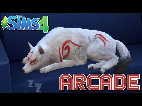 MY DOG OKAMI - The Sims 4 Arcade 2