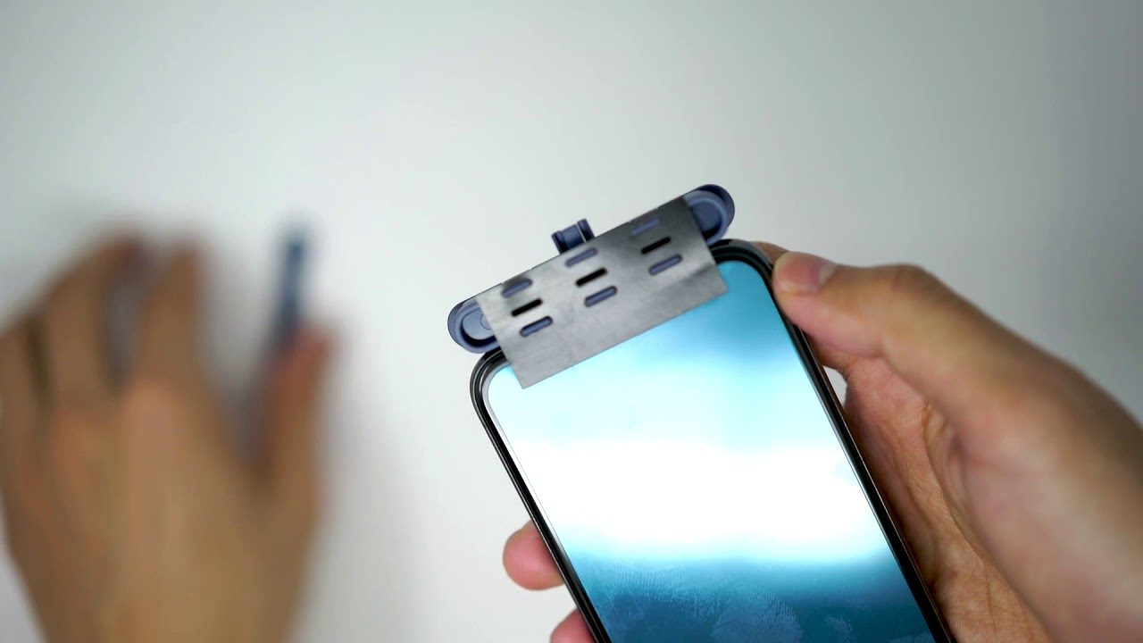 designer fashion aa6bd ac18c Applying your Hybrid Glass Screen Protector