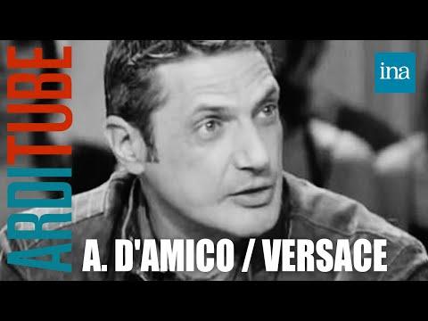 Antonio d'Amico sur Gianni Versace - Archive INA
