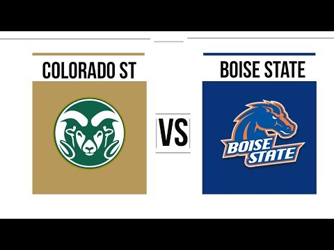 Week 8 2018 Colorado State vs Boise State Full Game Highlights