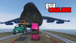 One of GTAmissions's most viewed videos: GTA 5: Online | ps4 | Aircraft Carrier & Cargo Plane FUN!