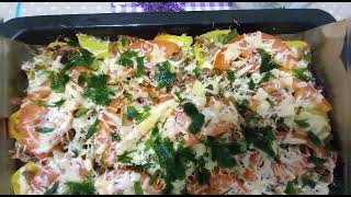 Вкусный быстрый легкий рицепт Картошка фарш сыр