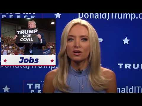 Kayleigh McEnany's 'Trump TV' debut, annotated