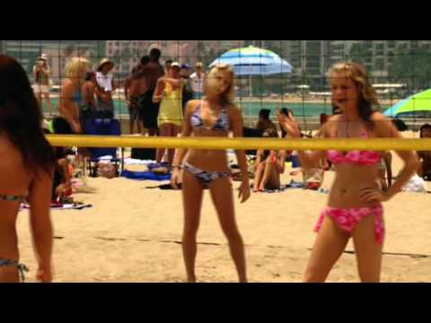Parvati Shallow and Amanda Kimmel | Into the Blue 2 | Volleyball Scene