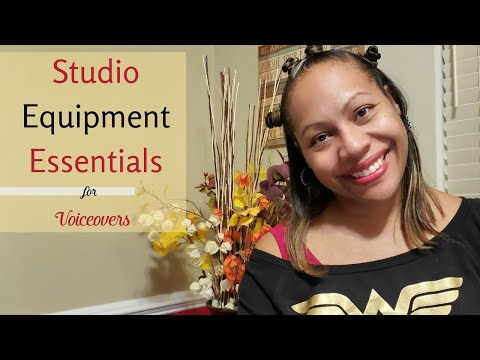 Essential Studio Equipment For Beginners In Voiceover | VO Mentor