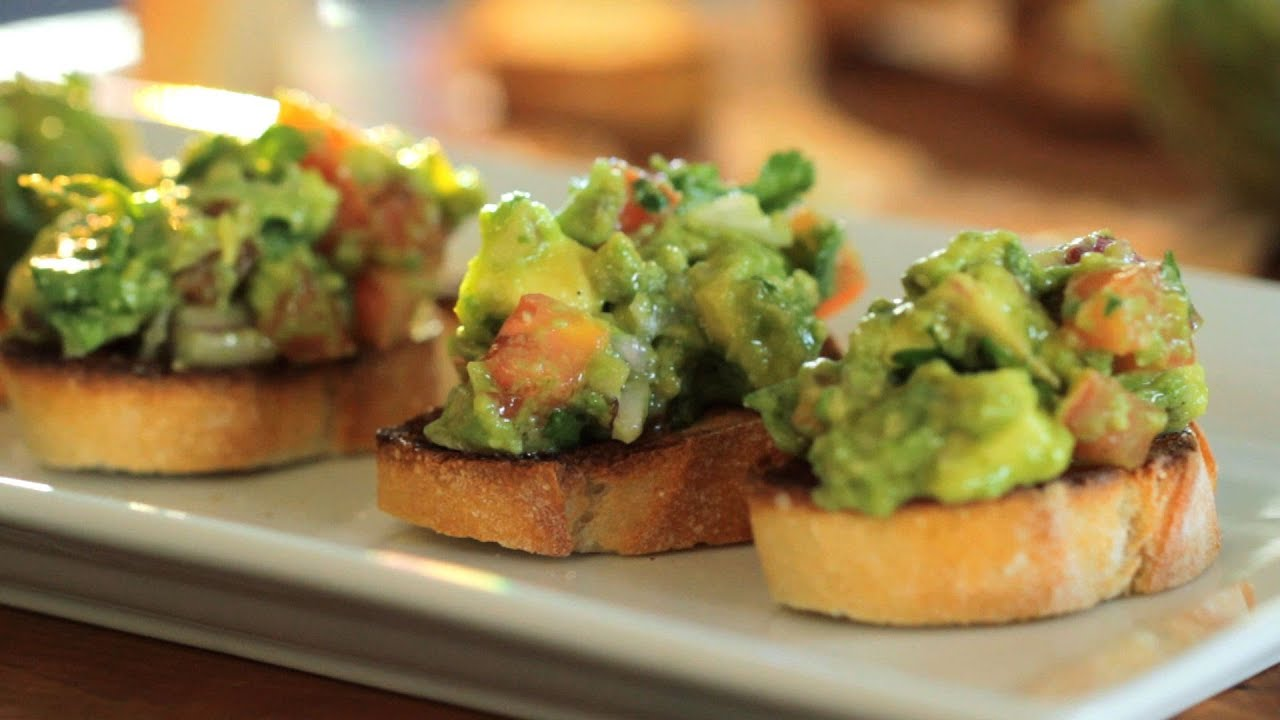 Avocado Bruschetta | Kin Community - YouTube