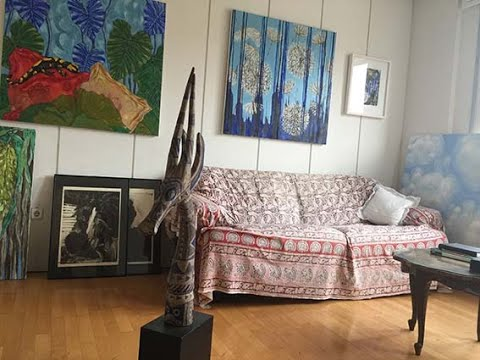 Inside Fiona Mouzakitis studio