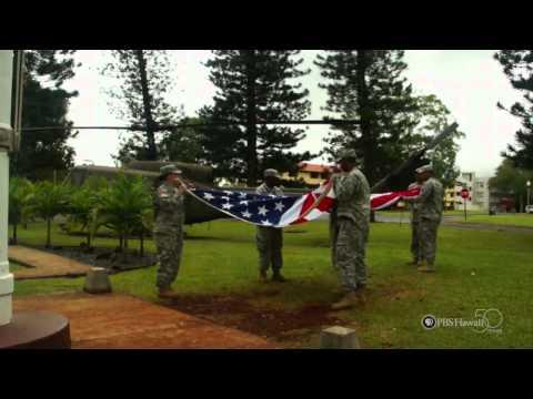 PBS Hawaii - HIKI N? Episode 303   Wheeler Middle School   The American Flag