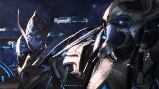Starcraft 2 Legacy of the Void Cinematic 01 Reclamation (kokr)
