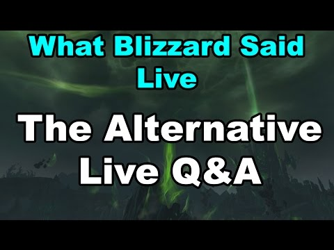 WBS #3 Patch 7.2 Live Q&A Discussion