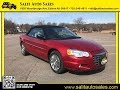 Salit Auto Sales - 2005 Red Chrysler Sebring Limited convertible in Edison, NJ