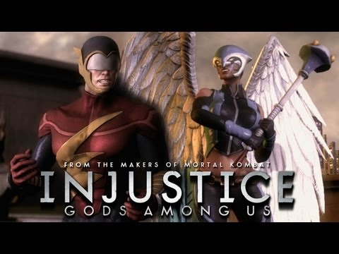 Injustice: Gods Among Us - The Flash Earth 2 vs Hawkgirl Earth 2 [1080p] TRUE-HD QUALITY