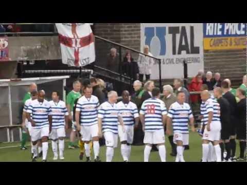 Alan McDonald's tribute game - Northern Ireland v QPR Legends - 10 September 2012 - Belfast