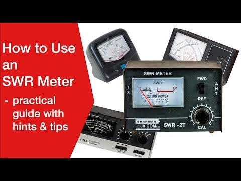 How to Use an SWR Meter: standing wave ratio meter