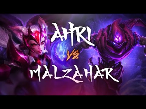 AHRI SCRIPTING!? - AHRI vs Malzahar - League of Legends Commentary