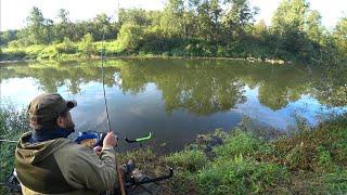 На рыбалку с друзьями!Малая река и фидер!