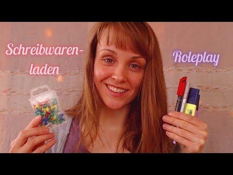 ASMR Schreibwarenladen/ Stationary Shop (Roleplay) [Requested) - German/ Deutsch