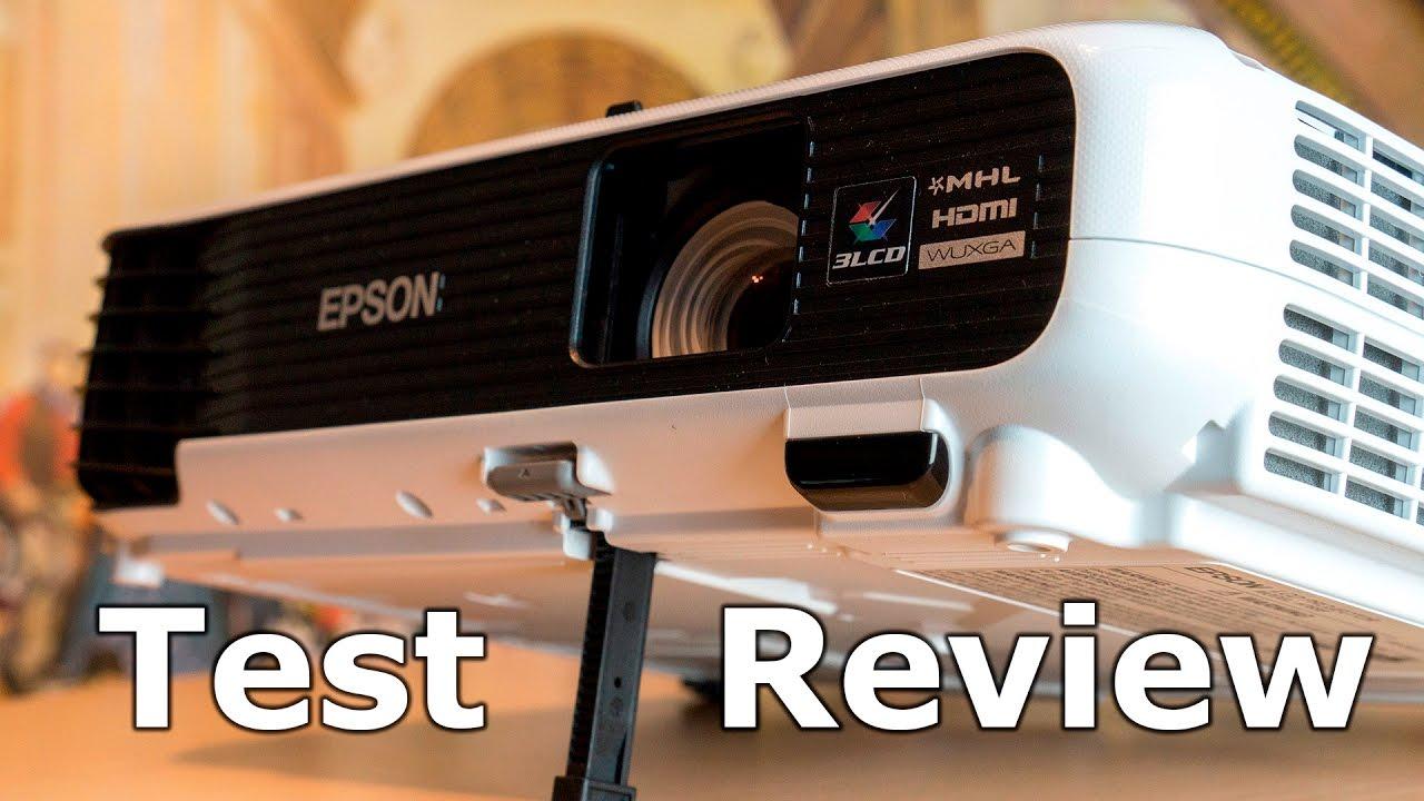 Epson EB-U04 - Full-HD 3LCD Beamer im Test REVIEW DEUTSCH ...