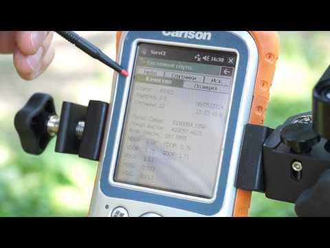 Съемка точек в режиме RTK. Учимся работать GPS приемником.