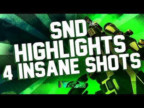 Trif: MY BEST YEMEN TRICKSHOT EVER! Bo2 Live SND Trickshotting #2 (4 Insane Shots)