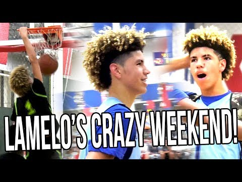 "LaMelo Ball HISTORIC AAU Weekend! First DUNK, ""ANKLE BREAKER"", & MID-GAME FORFEIT!"