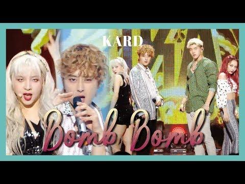 [HOT] KARD - Bomb Bomb , 카드 - 밤밤  Show Music Core   20190413