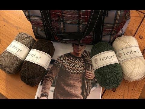 Knitting My First Icelandic Sweater! CraftyGarden: N. 20 Part 1