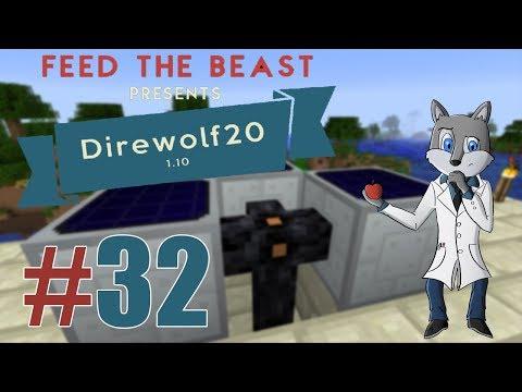 Ηλιακή ενεργεία Feed The Beast S3EP32