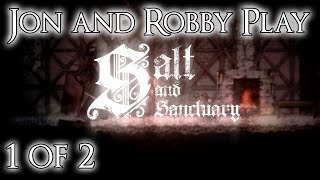 Salt and Sanctuary - PS4 Co-op Gameplay [2D Souls-like Game | 1 of 2]