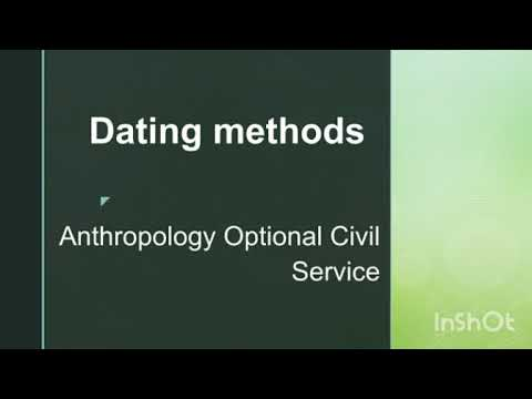 Dating in anthropology relative Difference Between