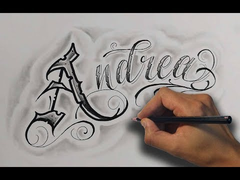 Download Dibujando Letras Chicanas Andrea Drawing Chicano Lettering