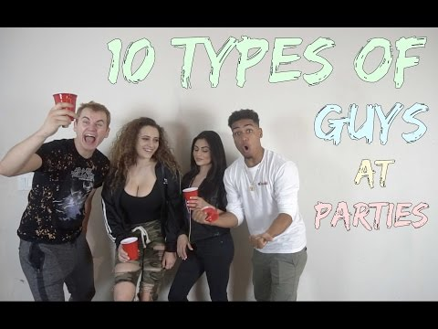 10 Types of Guys at Parties