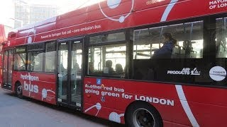 A number RV1 bus ride - A complete journey on this zero emissions Hydrogen Fuel Cell powered bus