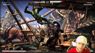 MKX - Kung Lao vs Reptile  - WHY DID HIS HEAD FALL OFF?