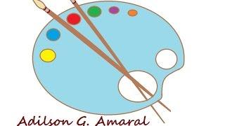 Dicas de Pinceis – Iniciantes – Pintura em Tecido por Adilson G. Amaral
