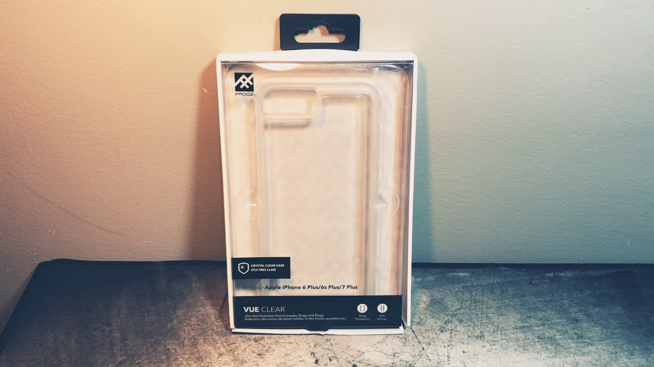 huge selection of 6f57e 34219 IFrogz [VUE Clear] iPhone 7/8 Plus Case Unboxing